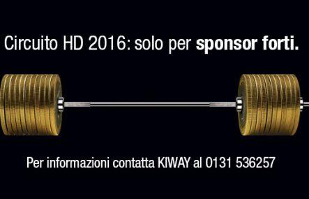 Circuito HD 2016: solo per sponsor forti.