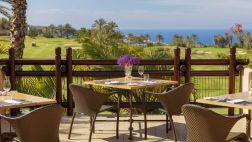 Abama Golf Club ristorante con vista sui campi