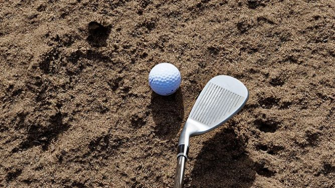 sand wedge mazza da golf