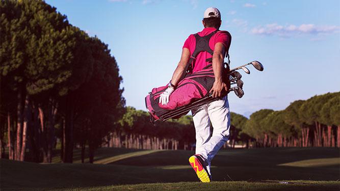 Vacanze golf: l'attrezzatura me la porto da casa?
