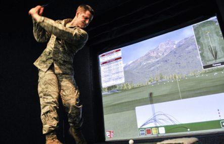 Golf indoor: il simulatore di gioco
