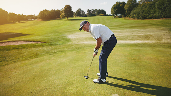 L'importanza dell'occhio predominante nel golf