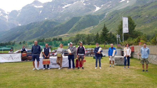 Tappa montana al fresco del Golf Club del Cervino