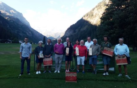 Tappa montana di agosto al Golf Club Gressoney