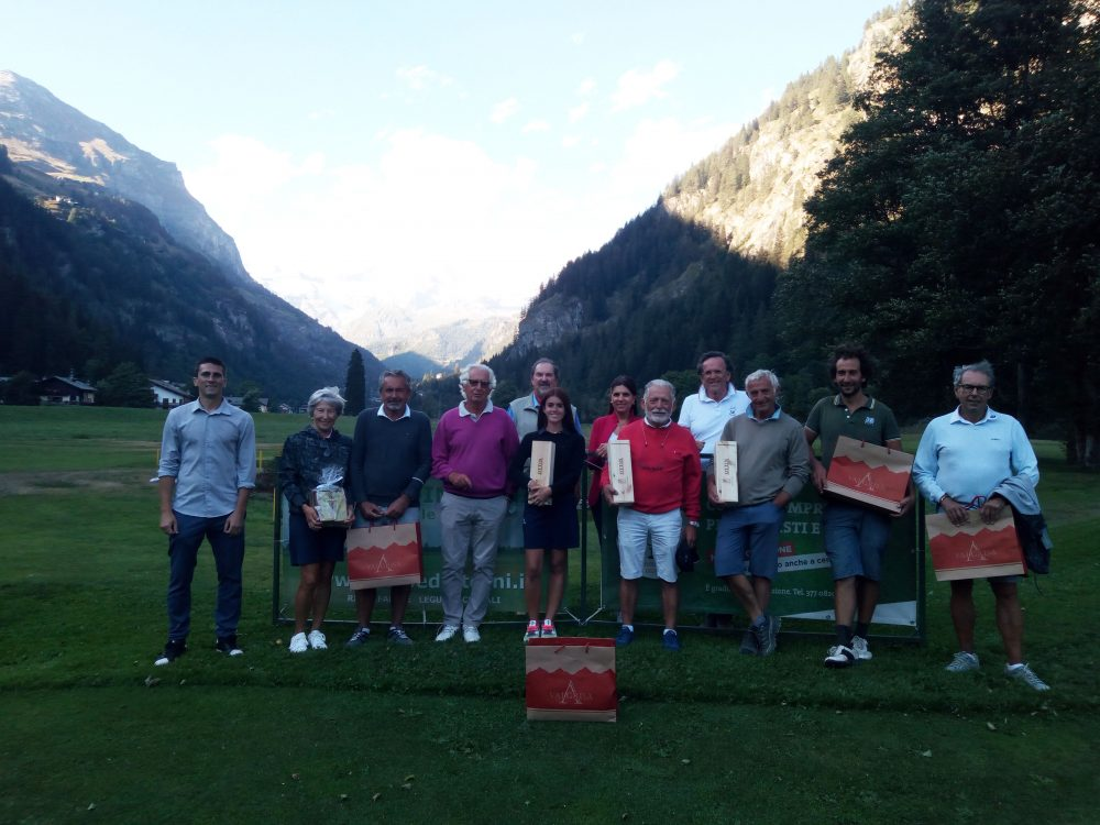 Tappa montana di agosto al Golf Club Gressoney
