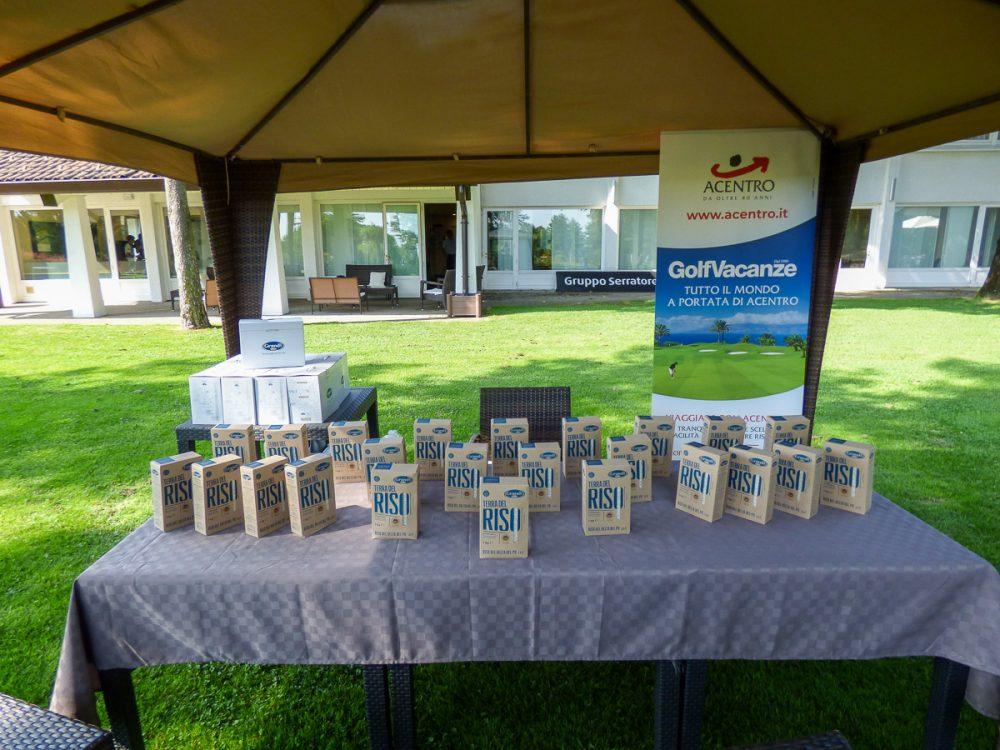 Tappa Riso Delta del Po IGP alla Pinetina Golf Club